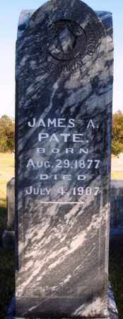 PATE, JAMES A. - Conway County, Arkansas | JAMES A. PATE - Arkansas Gravestone Photos