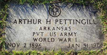 PETTINGILL  (VETERAN WWI), ARTHUR H - Conway County, Arkansas | ARTHUR H PETTINGILL  (VETERAN WWI) - Arkansas Gravestone Photos