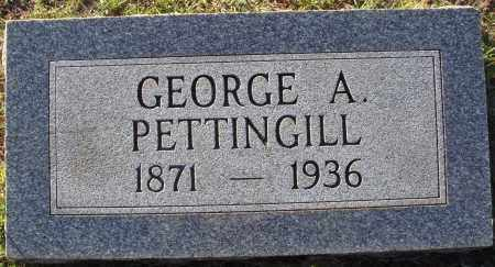PETTINGILL, GEORGE A. - Conway County, Arkansas | GEORGE A. PETTINGILL - Arkansas Gravestone Photos