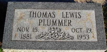 PLUMMER, THOMAS LEWIS - Conway County, Arkansas | THOMAS LEWIS PLUMMER - Arkansas Gravestone Photos