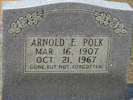 POLK, ARNOLD E - Conway County, Arkansas | ARNOLD E POLK - Arkansas Gravestone Photos