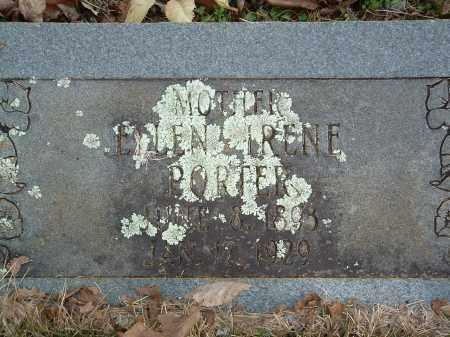 PORTER, ELLEN IRENE - Conway County, Arkansas | ELLEN IRENE PORTER - Arkansas Gravestone Photos