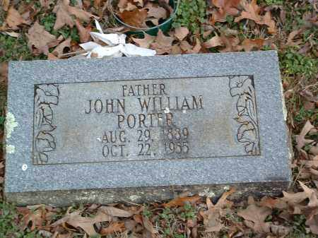 PORTER, JOHN WILLIAM - Conway County, Arkansas | JOHN WILLIAM PORTER - Arkansas Gravestone Photos