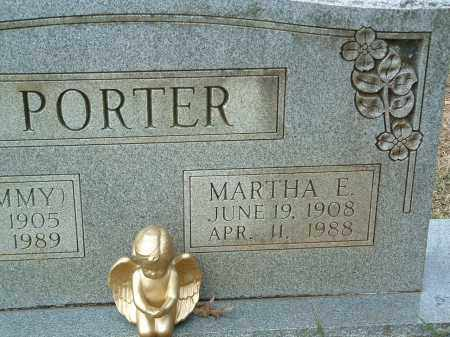 PORTER, MARTHA E. - Conway County, Arkansas | MARTHA E. PORTER - Arkansas Gravestone Photos