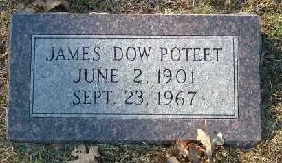 POTEET, JAMES DOW - Conway County, Arkansas | JAMES DOW POTEET - Arkansas Gravestone Photos