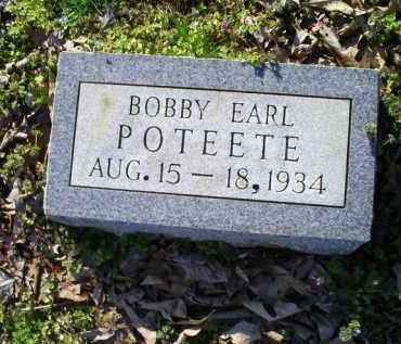 POTEETE, BOBBY EARL - Conway County, Arkansas | BOBBY EARL POTEETE - Arkansas Gravestone Photos