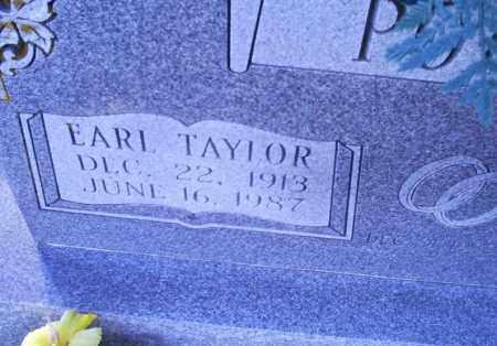 POTEETE, EARL TAYLOR - Conway County, Arkansas | EARL TAYLOR POTEETE - Arkansas Gravestone Photos