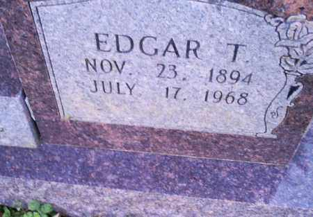POTEETE, EDGAR T. - Conway County, Arkansas | EDGAR T. POTEETE - Arkansas Gravestone Photos