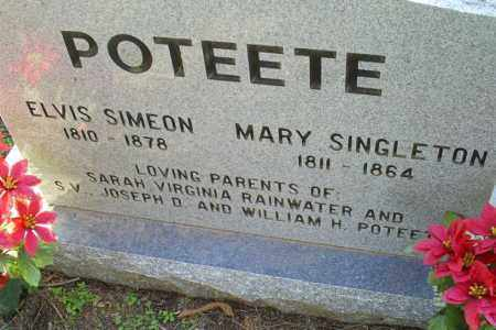 SINGLETON POTEETE, MARY - Conway County, Arkansas | MARY SINGLETON POTEETE - Arkansas Gravestone Photos