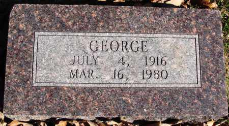 POTEETE, GEORGE - Conway County, Arkansas | GEORGE POTEETE - Arkansas Gravestone Photos