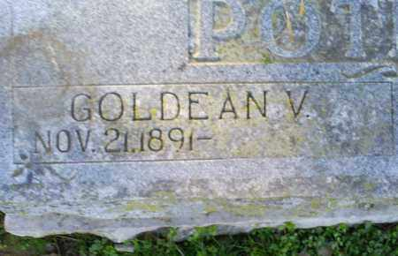 POTEETE, GOLDEAN V. - Conway County, Arkansas | GOLDEAN V. POTEETE - Arkansas Gravestone Photos