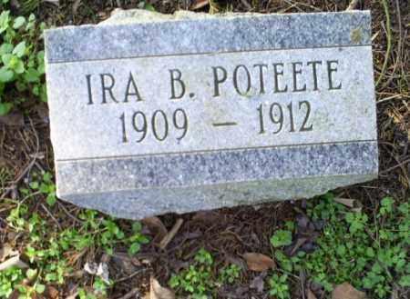 POTEETE, IRA B. - Conway County, Arkansas | IRA B. POTEETE - Arkansas Gravestone Photos