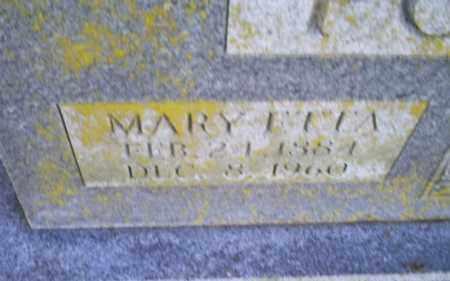 POTEETE, MARY ETTA - Conway County, Arkansas   MARY ETTA POTEETE - Arkansas Gravestone Photos