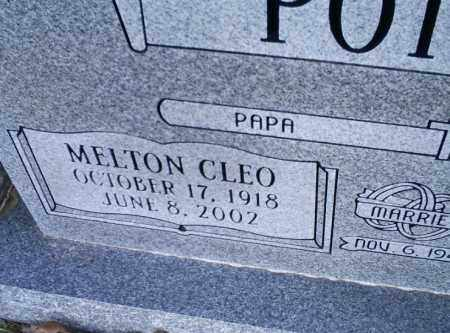 POTEETE, MELTON CLEO - Conway County, Arkansas | MELTON CLEO POTEETE - Arkansas Gravestone Photos