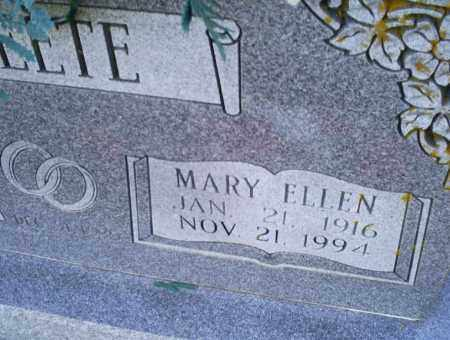 POTEETE, MARY ELLEN - Conway County, Arkansas | MARY ELLEN POTEETE - Arkansas Gravestone Photos