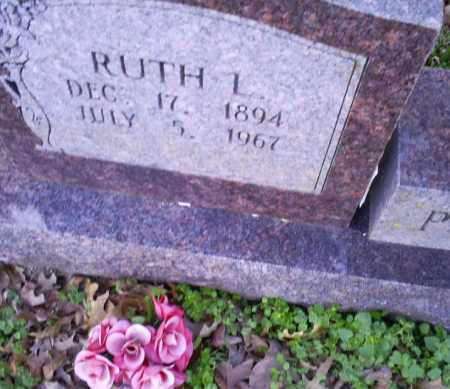 POTEETE, RUTH L. - Conway County, Arkansas | RUTH L. POTEETE - Arkansas Gravestone Photos