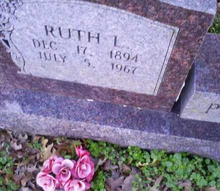 POTEETE, RUTH L. - Conway County, Arkansas | RUTH L. POTEETE - Arkansas Gravestone Photos