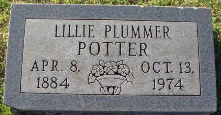 POTTER, LILLIE - Conway County, Arkansas | LILLIE POTTER - Arkansas Gravestone Photos