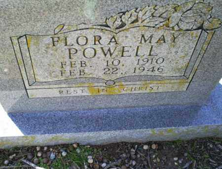POWELL, FLORA MAY - Conway County, Arkansas | FLORA MAY POWELL - Arkansas Gravestone Photos