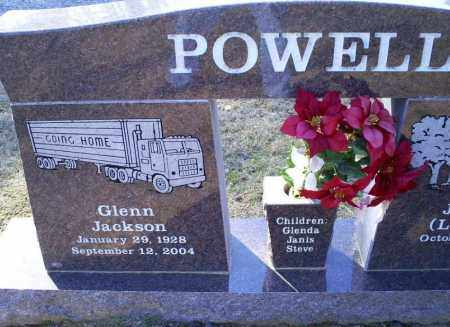 POWELL, GLENN  JACKSON - Conway County, Arkansas | GLENN  JACKSON POWELL - Arkansas Gravestone Photos