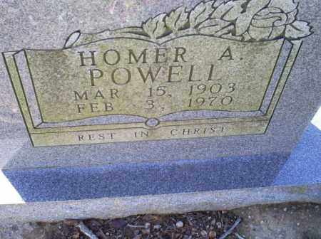 POWELL, HOMER A. - Conway County, Arkansas | HOMER A. POWELL - Arkansas Gravestone Photos