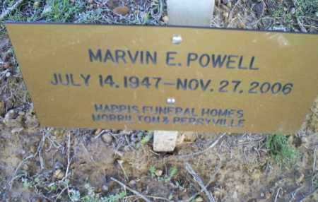 POWELL, MARVIN E. - Conway County, Arkansas | MARVIN E. POWELL - Arkansas Gravestone Photos