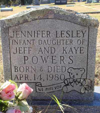 POWERS, JENNIFER LESLEY - Conway County, Arkansas | JENNIFER LESLEY POWERS - Arkansas Gravestone Photos