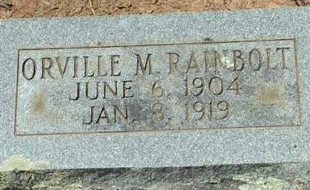 RAINBOLT, ORVILLE M. - Conway County, Arkansas | ORVILLE M. RAINBOLT - Arkansas Gravestone Photos