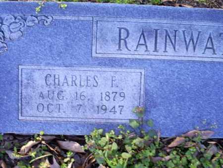 RAINWATER, CHARLES F. - Conway County, Arkansas | CHARLES F. RAINWATER - Arkansas Gravestone Photos
