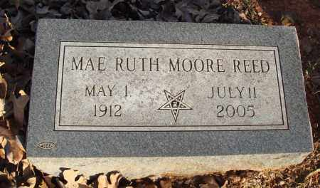 MOORE REED, MAE RUTH - Conway County, Arkansas | MAE RUTH MOORE REED - Arkansas Gravestone Photos