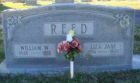 REED, WILLIAM W. - Conway County, Arkansas | WILLIAM W. REED - Arkansas Gravestone Photos