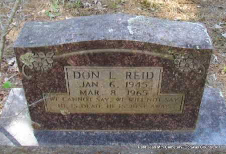 REID, DON L. - Conway County, Arkansas | DON L. REID - Arkansas Gravestone Photos