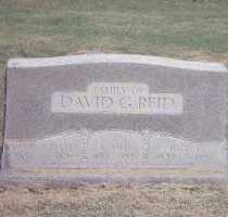 REID, DAVID G. - Conway County, Arkansas | DAVID G. REID - Arkansas Gravestone Photos