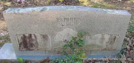 REID, NINA - Conway County, Arkansas | NINA REID - Arkansas Gravestone Photos