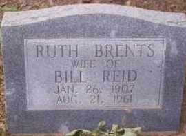 BRENTS REID, RUTH - Conway County, Arkansas | RUTH BRENTS REID - Arkansas Gravestone Photos