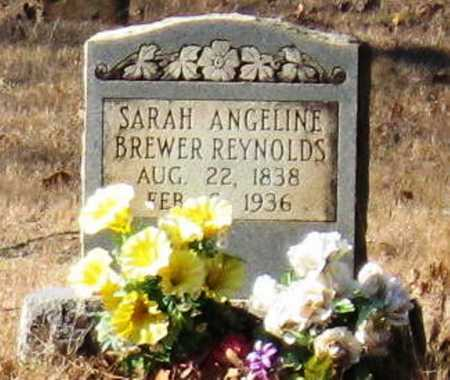 BREWER REYNOLDS, SARAH ANGELINE - Conway County, Arkansas | SARAH ANGELINE BREWER REYNOLDS - Arkansas Gravestone Photos