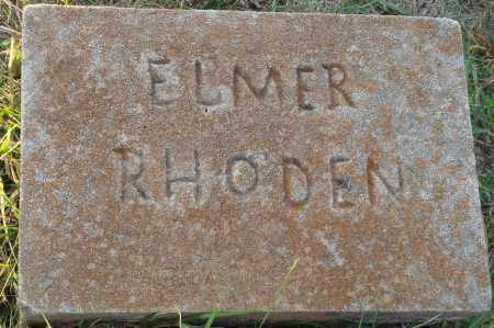 RHODEN, ELMER - Conway County, Arkansas | ELMER RHODEN - Arkansas Gravestone Photos