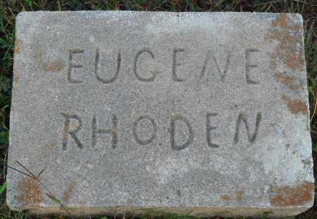 RHODEN, EUGENE - Conway County, Arkansas | EUGENE RHODEN - Arkansas Gravestone Photos