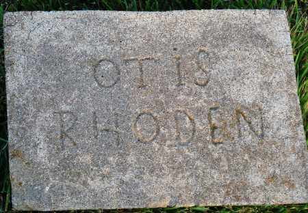 RHODEN, OTIS - Conway County, Arkansas | OTIS RHODEN - Arkansas Gravestone Photos
