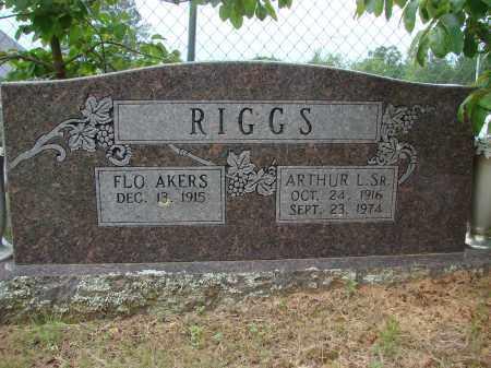 RIGGS, SR., ARTHUR L. - Conway County, Arkansas | ARTHUR L. RIGGS, SR. - Arkansas Gravestone Photos
