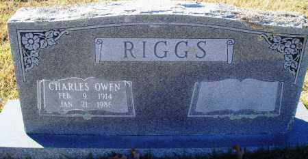 RIGGS, CHARLES OWEN - Conway County, Arkansas | CHARLES OWEN RIGGS - Arkansas Gravestone Photos