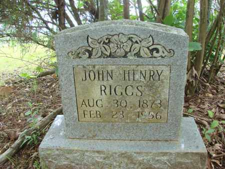 RIGGS, JOHN HENRY - Conway County, Arkansas | JOHN HENRY RIGGS - Arkansas Gravestone Photos