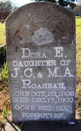 ROASEAU, DORA E. - Conway County, Arkansas | DORA E. ROASEAU - Arkansas Gravestone Photos