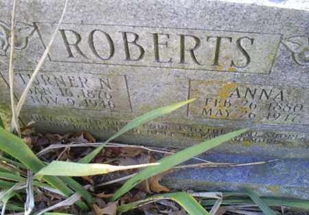 ROBERTS, TURNER N. - Conway County, Arkansas | TURNER N. ROBERTS - Arkansas Gravestone Photos