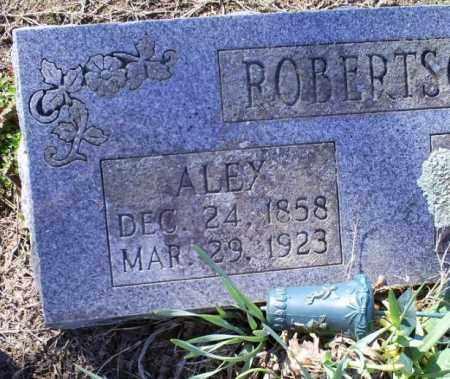 ROBERTSON, ALEY - Conway County, Arkansas | ALEY ROBERTSON - Arkansas Gravestone Photos