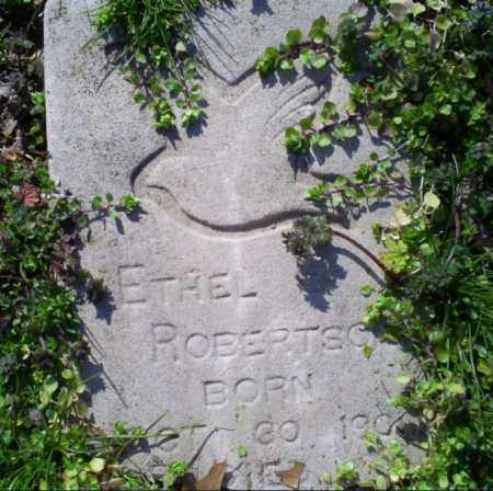 ROBERTSON, ETHEL - Conway County, Arkansas | ETHEL ROBERTSON - Arkansas Gravestone Photos
