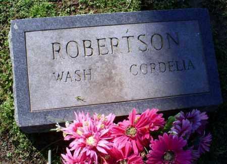 ROBERTSON, CORDELIA - Conway County, Arkansas | CORDELIA ROBERTSON - Arkansas Gravestone Photos