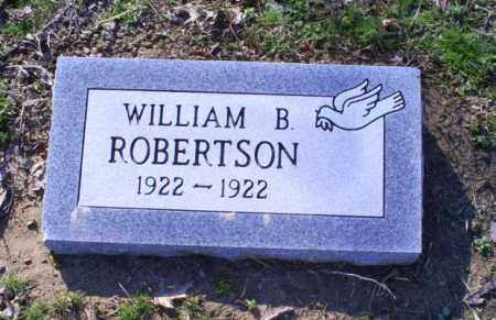 ROBERTSON, WILLIAM B. - Conway County, Arkansas | WILLIAM B. ROBERTSON - Arkansas Gravestone Photos