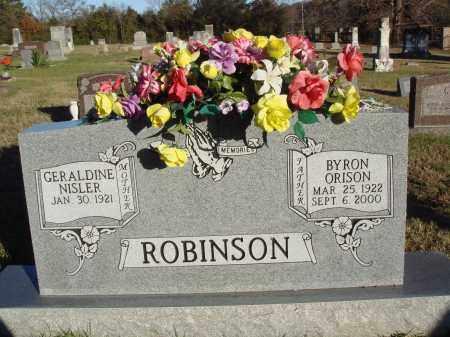 ROBINSON, BYRON ORISON - Conway County, Arkansas | BYRON ORISON ROBINSON - Arkansas Gravestone Photos