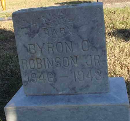 ROBINSON JR., BYRON O. - Conway County, Arkansas | BYRON O. ROBINSON JR. - Arkansas Gravestone Photos